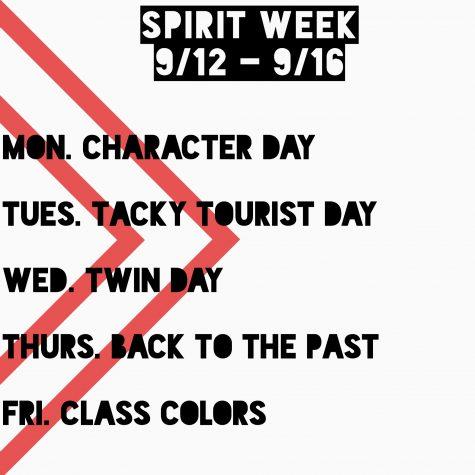 Homecoming Spirit Week