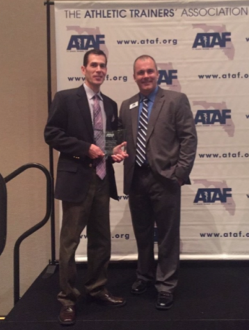FHS' Very Own Wins Florida High School Athletic Trainer of the Year