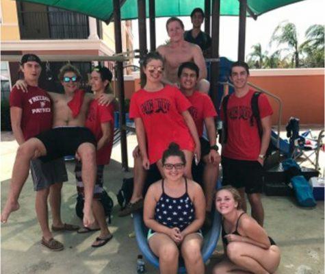The Freedom Swim Team District Meet
