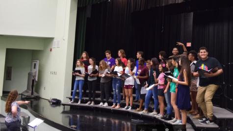 Freedom High School Choir Prepares For Fall Concert