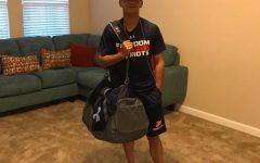 Senior Eliel Martinez Settles In at FHS