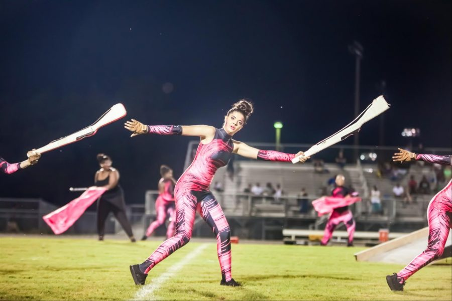 Colorguard hopes to improve off of last years success