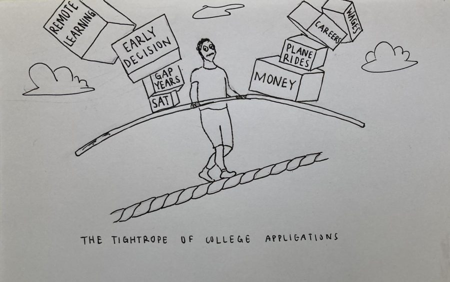 Senior Alisha Bhatia examines the decline of early applicants in American universities