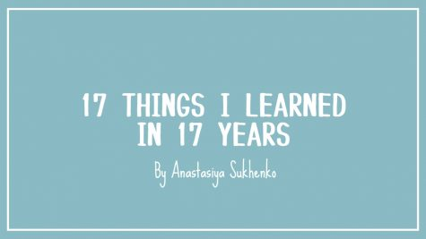 17 Things I Learned in 17 Years