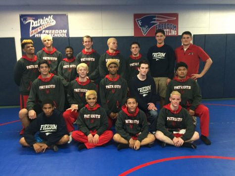 Wrestling Team Wishes for a Winning Season