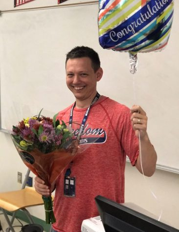 Mr. Tillman- FHS Teacher of the Year