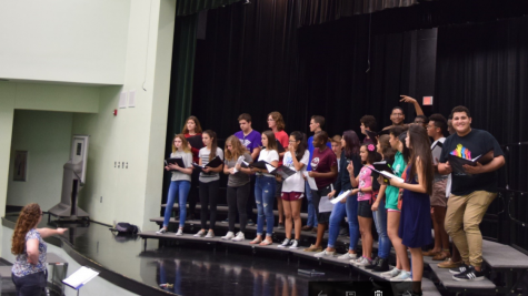 Freedom High School Choir Prepares For Fall Concert