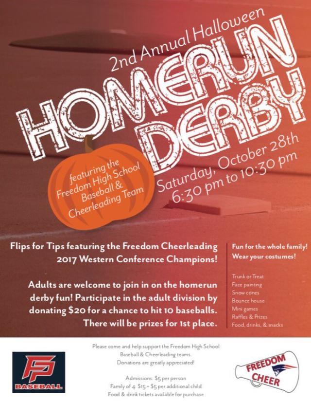FHS Homerun Derby Fundraiser