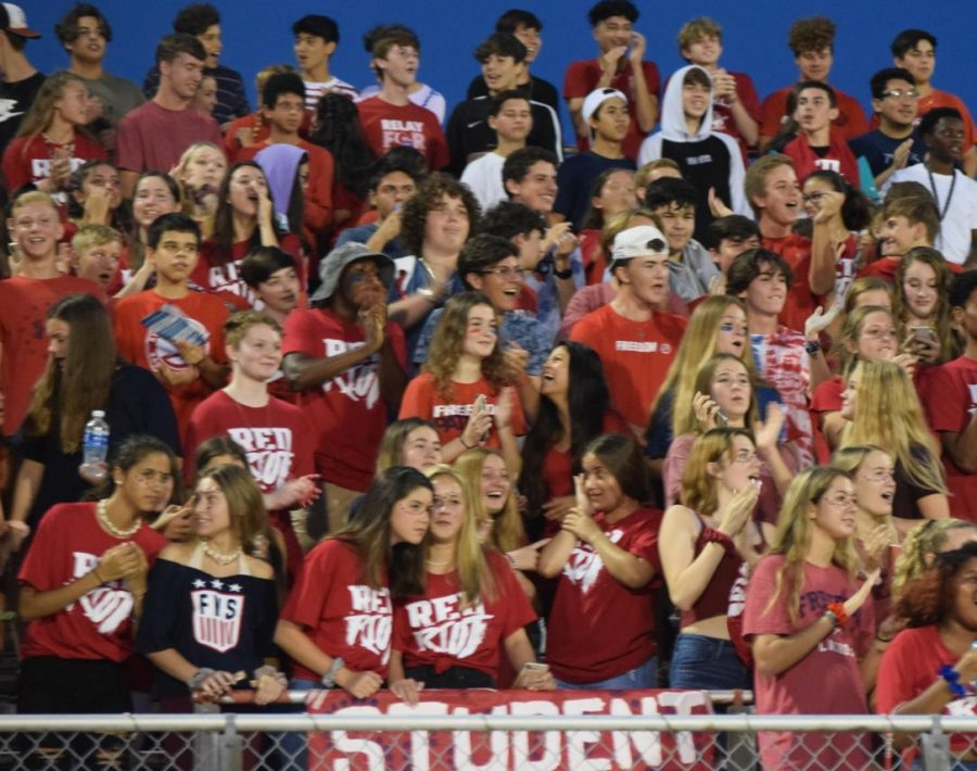 Red, White and New - school spirit is on the rise at FHS