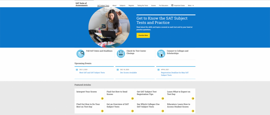 Tips for taking the SAT